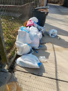 How to get a neighbor to clean up their act -- this may not work but you have to try
